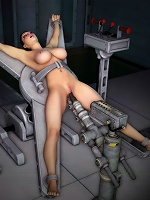 Lovely 3D Floosie getting plugged by 3D Guy