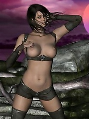 Veronicas 3D boobs are hot and perfect