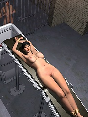 3D Neko-girl gets abused and sucked hardly