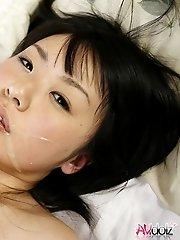 Teen Tsubomi screwed and cumfaced