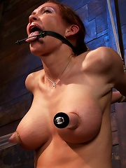 Extreme nipple torment,...