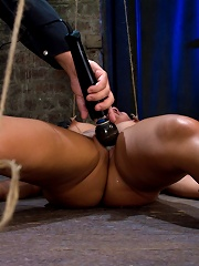 Tied and Stretch Huge...