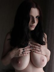 Never seen tender faerie with awesome big mammaries strips down all of her clothes