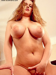 Fresh faced big titted jane presented her boulders and posing.