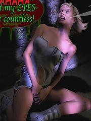 Hot Mistress pleasures Ninjas dick