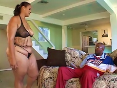 Fat Latina Is Going To Have A Great Time On A Big Black Cock