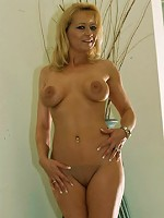 Hot blonde MILF takes black cock up the ass!