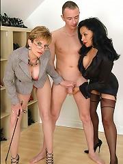 Mature leg mistresses