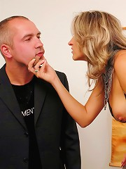 Drunk Dominant Babe Harasses and Humiliates Unsuspecting Couple