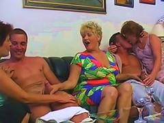 Fantastic Germany Mature Group Porn