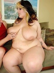 Whats better than a barely legal BBW blonde babe??? Not a fucking thing. This fat assed fat tittied freak was just the tender age of