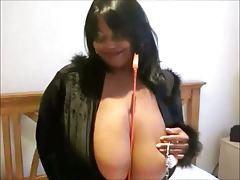 Mistress bbw big  boobs ( nice black cow 43 )
