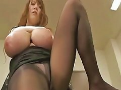 Massive tits Japanese gets fondled