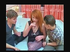 Busty Redhead MILF with Two Youngs Bvr Porn 33 xHamster