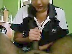 Indian Sister In Law Giving A Handjob