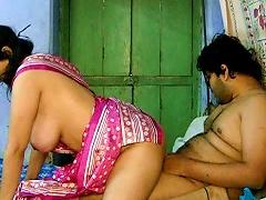 Busty Savita Getting It Deep