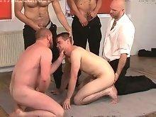 Gay bondage torturing porn
