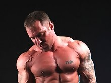 Hairy muscle stud and porn icon Caesar