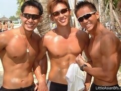A bit of pictures of sexy asian amateur gay males