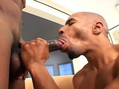 Two black studs love anal and fuck until they both cum