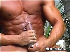 No one could believe Rico Elbaz's super-popular video when we first released it in 2002 - for here was a proud, handsome muscle star only too eag