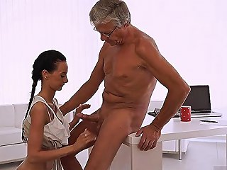 Hd Hardcore Natural Tits And Blowjob Finally Shes Got Her Boss Dick