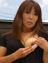 free asian gallery Japanese MILF strips and...