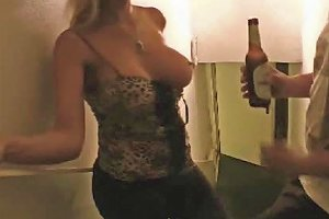 Homemade Big Titted Amateur Girl Fucking And Taking Facial