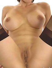 Asian with large breasts stripping