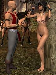 Free BDSM 3D Comix