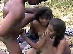 Amateur Indians Having Sex Outdoors