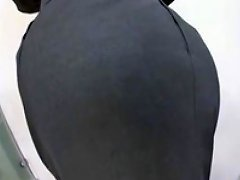 Censored Asian Office Women Skirt Pantyhose Assjob