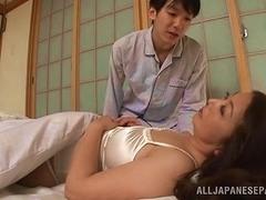 Thick Body Japanese MILF Woken Up For Good Morning Sex