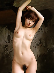 Japanese tramp enjoys being naked in her home for house keeping and fast fucks