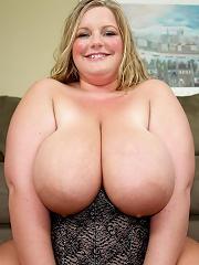 Watch the sexy big Veronica Vaughn get her pussy stuffed!