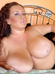 BBW Rose is taken by suprise dude as he pounds that lovely breast-meat and then pounds her pussy while making use of all that tasty, curvy, tanned fle