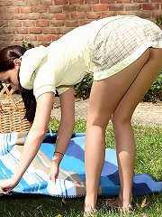 Georgia at a Picnic for One