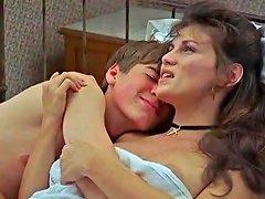 Serena Grandi Alexandra Vandernoot In L' Iniziazione 1987