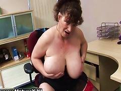 Horny Fat  Lady Fucks