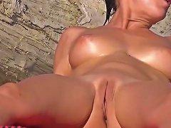Nude Beach Spread Pussies Hd