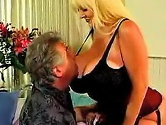 Gigantic Tits Of A Fucked Slut In A Corset
