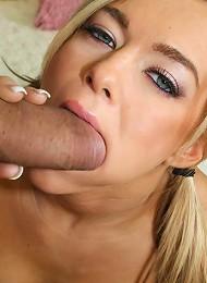 Gorgeous Brunette Teen Crista Railed Doggy Style Teen Porn Pix