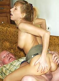 Grandpa Seduces His Teenage Nurse Teen Porn Pix