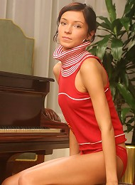 Playing By The Piano Teen Porn Pix