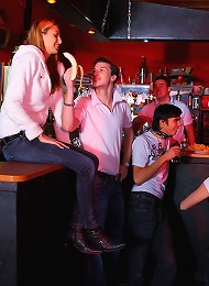 It Was A Wild Night At This Bar, But It Was About To Get Even Wilder. This Teen Was So Horny That She Wanted To Get Fucked Right Now, She Didnt Want T Teen Porn Pix