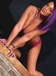 Pink Thong Teen Porn Pix