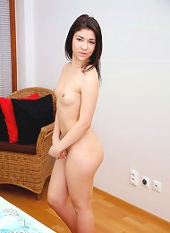 Rope Jumping Beauty Strokes Boobs Teen Porn Pix