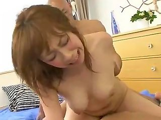 RedTube Video - Saki Asaoka Busty Japanese Receives Two Cock