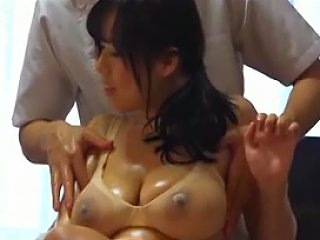 Husband Watches Japanese Wife Get A Naughty Massage 1