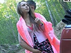BravoTube Video - Off Road Fucking With A Sexy Girl And Her Tight Pussy